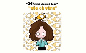 """24 giờ của mẹ bỉm công sở thuộc team """"não cá vàng"""""""