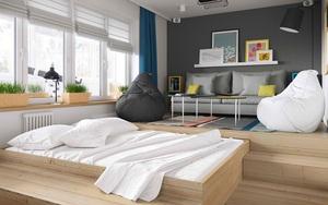 """Vỏn vẹn 34m² nhưng căn hộ này minh chứng hùng hồn nhất cho việc """"nhà chật vẫn đẹp miễn chê"""""""