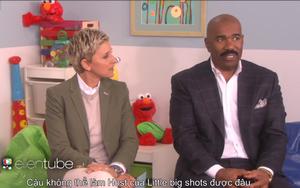 """Steve Harvey tuyên bố Ellen Degeneres không có cơ hội làm MC cho """"Little big shots"""""""