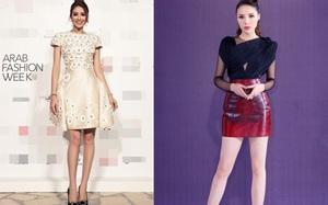 Kỳ Duyên và Phạm Hương so kè váy ngắn, dẫn đầu danh sách sao mặc đẹp tháng 11