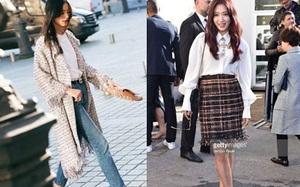 Liu Wen diện đồ chất hơn hẳn Park Shin Hye tại show Chanel Xuân/Hè 2018