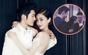 Angelababy lần đầu đi dự đám cưới cùng Huỳnh Hiểu Minh sau khi sinh