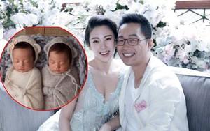 Tình địch cũ của Từ Hy Viên sinh đôi trong lúc chồng đại gia thua nợ hàng chục tỷ đồng