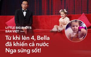 Trước khi gây sốt ở Little big shots, cô bé xinh xắn nói 8 thứ tiếng đã nổi danh thế giới