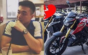 Đã đau đớn vì bị trộm ô tô, anh chàng tội nghiệp còn bị bạn gái chia tay vì... mua xe máy thay thế