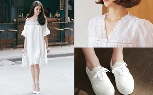 4 món đồ trắng mua vài cái để mặc dần mà không sợ bị lỗi mốt