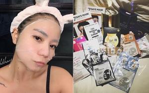 """An Khanh - Cô nàng sở hữu 800 miếng mặt nạ giấy và sẵn sàng """"nhịn mặc"""" để mua mỹ phẩm làm đẹp"""