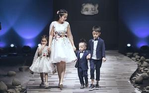 Ốc Thanh Vân cùng 3 nhóc tỳ mở màn Tuần lễ Thời trang Thiếu nhi 2017