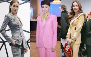 Sao Việt diện suit không nội y: Người cá tính đầy khí chất, người lại mặc đồ trông như... đi mượn