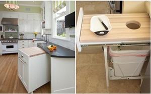 Tủ bếp đa năng - bí quyết cho việc tiết kiệm không gian trong nhà bếp nhỏ