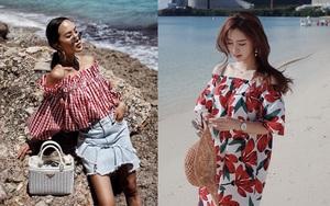 """Xem street style Châu Á để xem cách mặc đồ """"hoa hòe hoa sói"""" trong ngày hè oi ả"""