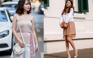 Street style tuần này: Các quý cô miền Bắc kết hợp đồ thiết kế Việt và đồ hiệu bình dân cực kỳ ăn ý