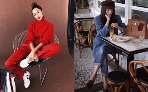 Xem street style đẹp chất ngất của các quý cô Châu Á những ngày trời lạnh