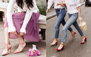 Gạt bỏ nỗi lo đau nhức chân khi đi giày cao gót với 8 lưu ý đơn giản