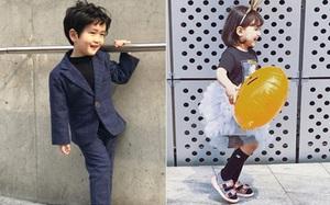 Fashionista nhí cũng lên đồ kĩ và chất không kém tại Tuần lễ thời trang Seoul