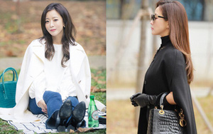 """Mỹ nhân không tuổi Kim Hee Sun dát hàng hiệu không đếm xuể trong """"Phẩm chất quý cô"""""""