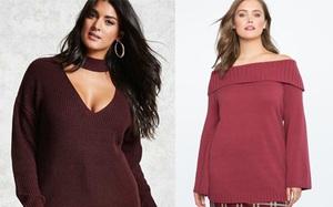 Gợi ý 13 mẫu áo dài tay mùa Thu/Đông tới dành riêng cho những nàng ngoại cỡ
