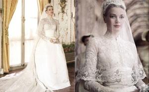 Điều bí ẩn gì đằng sau mẫu váy cưới Công nương Grace Kelly khiến cả thế giới sau 60 năm vẫn mê mẩn đến vậy