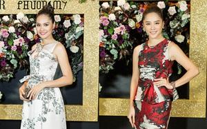 Linh Nga hội ngộ Á Hậu Thiên Lý và Hoa hậu Hương Giang tại sự kiện thời trang