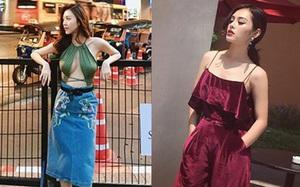 """Phong cách thời trang hai """"chiến binh"""" của team Kỳ Duyên: người sexy kiểu sang chảnh, người lại cá tính nổi loạn"""
