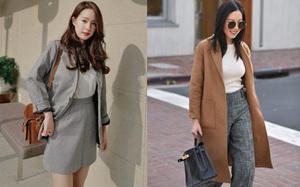 """Các quý cô Châu Á đúng là """"chẳng ai kém ai"""" về khoản kết hợp đồ mùa đông"""