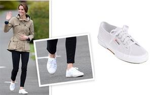 Đôi sneaker giá có hơn 1 triệu vậy mà Công nương Kate lại yêu thích đến vậy!