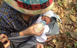 Thái Nguyên: Bé trai sơ sinh còn nguyên cuống rốn bị bỏ rơi ở bụi tre