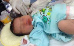 Lào Cai: Bé sơ sinh bị bỏ rơi trên xe taxi