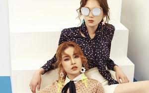 """Chi Pu khoe phong cách """"chất lừ"""" cạnh Á hậu Hàn Quốc"""