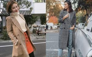 """Muốn diện áo khoác kẻ thật đẹp, ắt hẳn bạn phải """"nghía"""" qua street style Châu Á tuần này rồi"""