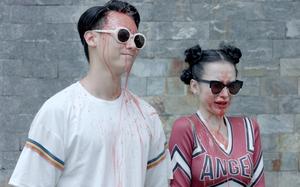 Rocker Nguyễn - Angela Phương Trinh ê chề vì bị bạn bè tạt nước vào mặt