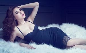 Hoa hậu Ngọc Duyên đốt mắt nhìn với bộ ảnh nội y gợi cảm