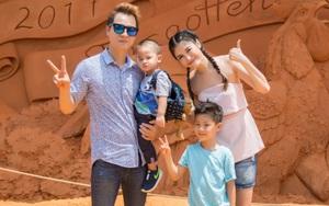 Khoảnh khắc hạnh phúc của gia đình Đăng Khôi dịp cuối tuần