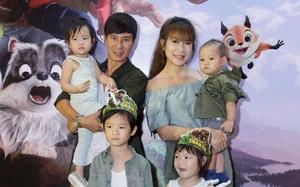 Gia đình Lý Hải - Minh Hà xúm xít hẹn hò nhau đi xem phim cuối tuần