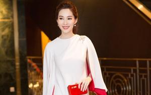 Hoa hậu Đặng Thu Thảo xuất hiện rạng rỡ sau khi công bố tin kết hôn