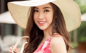 """Hoa hậu Đỗ Mỹ Linh khoe vẻ đẹp trong sáng và nụ cười """"như mùa thu tỏa nắng"""""""