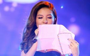"""Cô gái suýt thi hỏng vì bất ngờ nhận được thư mẹ ngay trên sân khấu """"Be a Star"""""""