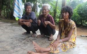 Rơi nước mắt mẹ già 85 tuổi xin từng bữa cơm nuôi 4 người con tâm thần, muốn ăn bữa ngon rồi chết cùng con