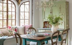 Những quy tắc phải nhớ nếu muốn có một phòng ăn mang phong cách đồng quê