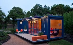 Bất kỳ ai cũng ước có một ngôi nhà container như thế này để sống