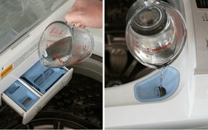 Làm sạch máy giặt định kỳ không cần thợ với 4 bước đơn giản