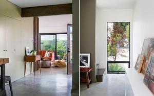 Ngôi nhà cũ kĩ trở nên hiện đại hơn nhờ sự cải tạo thông minh của chủ nhà