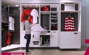 Ấn tượng với tủ đựng đồ đa năng thông minh dành cho nhà hẹp