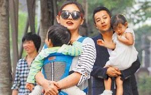 Bắt gặp Từ Hy Viên cùng chồng và hai con đi dự tiệc gia đình