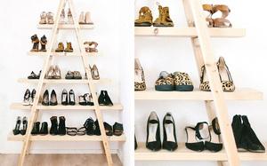 10 ý tưởng lưu trữ giày dành riêng cho hội mê giày tham khảo
