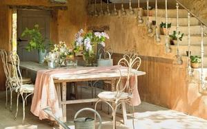Làm đẹp sân vườn theo phong cách đồng quê nước Pháp siêu lãng mạn