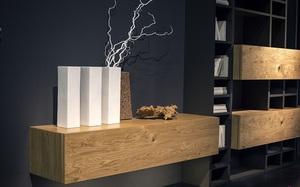 """Kệ gỗ nổi trên tường - Thiết kế lạ được coi là """"con cưng"""" của những chủ nhà ưa phong cách"""