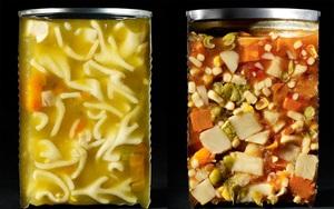 Lạ lẫm với hình ảnh bổ đôi của những đồ ăn ta vẫn thấy hàng ngày