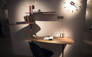 Những mẫu bàn làm việc gọn nhẹ giúp bạn có ngay văn phòng tại nhà dù nhà không rộng rãi