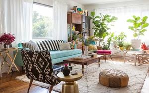 Quá đáng tiếc nếu bạn không học 20 cách kết hợp màu sắc này khi trang trí phòng khách